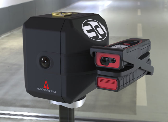Auto-Measure 3D base scanning with double Leica DISTO D110