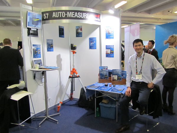 Auto-Measure at CeBIT Australia 2013