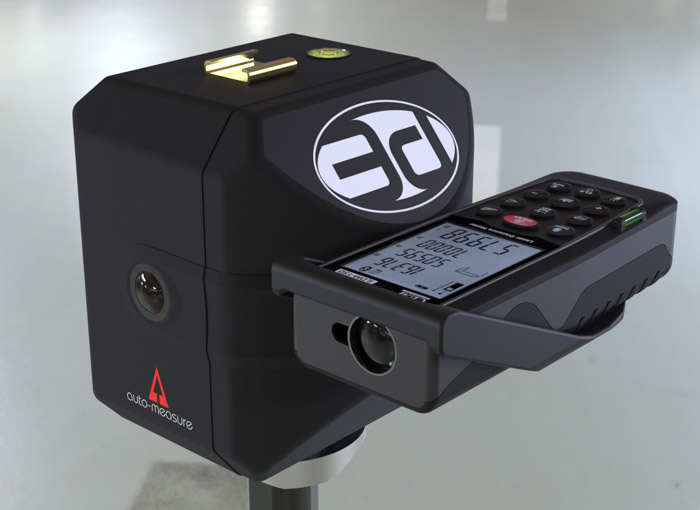 Auto-Measure 3D base scanning with CEM iLDM-150