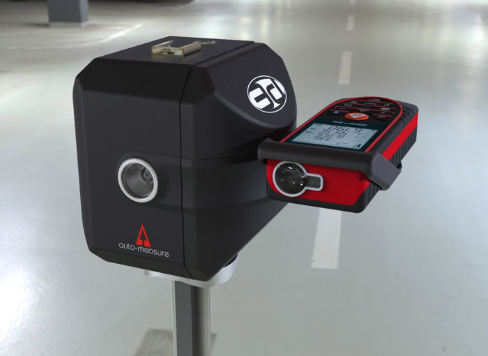 Auto-Measure 3D base scanning with Leica DISTO D3aBT